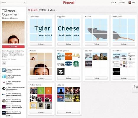 12 liens sur Pinterest à destination des recruteurs et des candidats | Time to Learn | Scoop.it