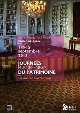 CHALON : Journées Européennes du Patrimoine - Le programme ... - vivre-a-chalon.com | SORTIR à Chalon ... avec V@C | Scoop.it