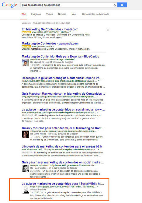 SEO y Tu Marketing de Contenidos | www.alfredobenitez.com | Seo, Social Media Marketing | Scoop.it