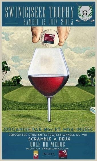SWIN(G)SEEC TROPHY : 1er TOURNOI DE GOLF - Dimension-Commerce | actualité golf - golf des vigiers | Scoop.it