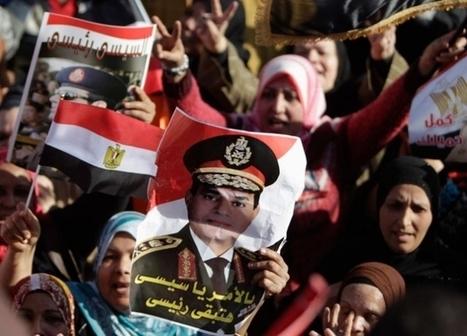 Trois ans après la chute de Moubarak, l'armée tombe le masque | Égypt-actus | Scoop.it