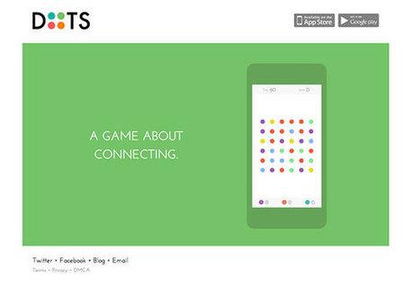 Dots : un jeu qui va vous rendre complètement zinzin, sur iOS et Android | Benchmark Mobile User Interface | Scoop.it