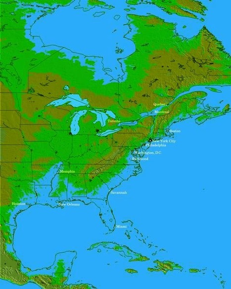 US Navy's Earth Changes Flood Map of America, Comparative Earth Changes Maps, New Madrid Earthquake Zone NLE 2011: What Does the Navy Know? | Alternative News Report | Earth Changes | Scoop.it
