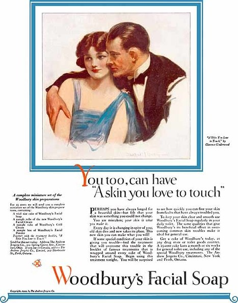 A Skin You Love to Touch -Model Interpretation | A Cultural History of Advertising | Scoop.it