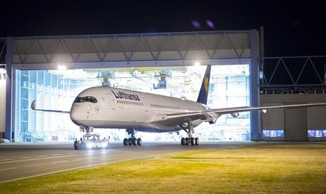 PICTURE: Lufthansa shows off painted A350 | Aviation & Airliners | Scoop.it