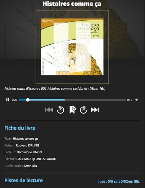 BiblioStream, le lecteur web pour les livres audio numériques en bibliothèque | LibraryLinks LiensBiblio | Scoop.it
