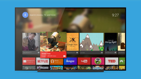 Android TV Launcher is Now Available on Google Play   Embedded Systems News   Scoop.it