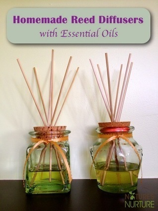Homemade Air Fresheners: Essential Oil Reed Diffusers - Nature's Nurture   Aromatherapy plus   Scoop.it