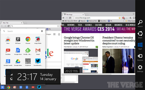 Google brings Chrome OS straight into Windows 8 in latest... - The Verge | desktop liberation | Scoop.it