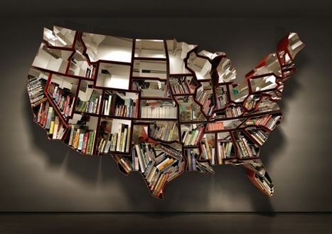 The Best Office Bookshelf | Geography Education | Scoop.it
