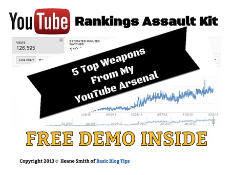 Free YouTube Report - 5 Top Weapons From My YouTube Arsenal! | YouTube Tips and Tutorials | Scoop.it