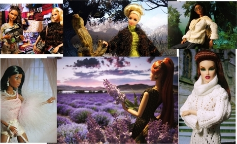 Using your PC Monitor as background for your doll photography | Fashion Dolls | Scoop.it