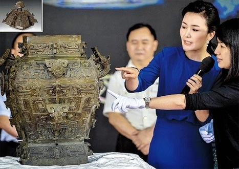 Ancient bronze vase returned to China after a century | The Archaeology News Network | Asie | Scoop.it