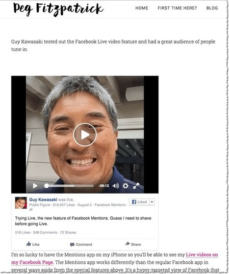 Facebook Live: What Marketers Need to Know | Facebook for Business Marketing | Scoop.it