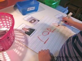 family playing cards | teach mama | Literacia no Jardim de Infância | Scoop.it