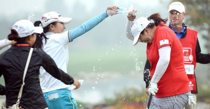 Reignwood LPGA Classic : Home victory for Feng | Globe Greens | Scoop.it