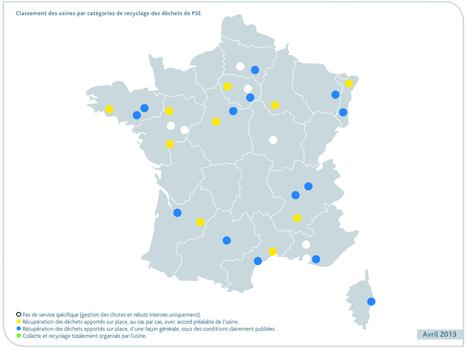 Cartographie des usines de recyclage de déchets de polystyrène ... - Batiweb.com | tri des déchets, gestion des déchets | Scoop.it