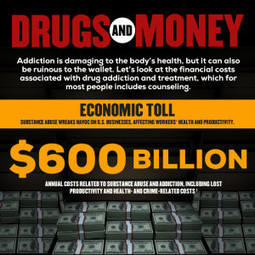 Drugs and Money: The Costs of Addiction | Infographics | Scoop.it