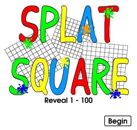 Splat Square / Sgwar Sblat! (1-100) | Adnoddau Mathemateg | Scoop.it