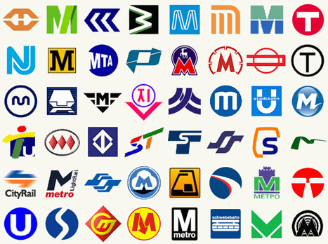 Metro Logos from Around the World | INSPIX | Infographics | Scoop.it