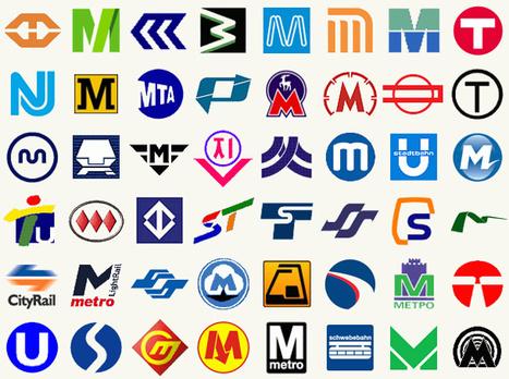 Metro Logos from Around the World | INSPIX | Infographics | Scoop.it