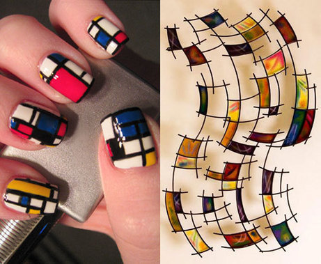 Confluence of Nail Art and Wall Art | fashion and glamor | Scoop.it