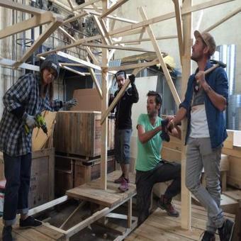Nantes. Du mobilier recyclé s'installe à la Cité, le temps de Climate Chance   Aménagement des espaces de vie   Scoop.it