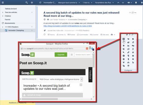 InoReader permet désormais de partager des articles sur Scoop.it | RSS Circus : veille stratégique, intelligence économique, curation, publication, Web 2.0 | Scoop.it