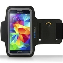 Minisuit SPORTY Armband + Key Holder for Samsung Galaxy S5 S4 S3 S2 (Black) | Phone Case Covers | Scoop.it