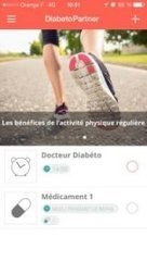 Application Diabetopartner | Santé et numérique, esanté, msanté, santé connectée, applications santé, télémédecine, | Scoop.it