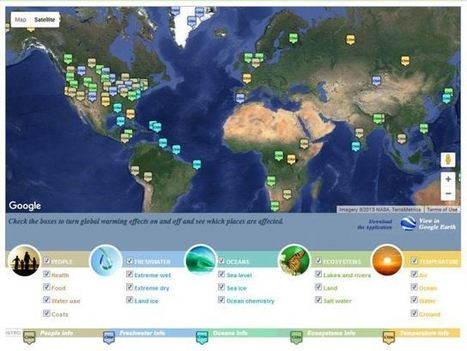 Eight Great Multimedia Resources for Teaching about Climate Change | STEM Connections | Scoop.it