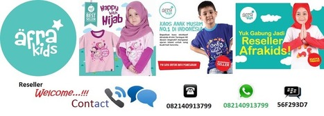 Reseller Afrakids | Agen Afrakids Surabaya Toko Baju Anak Muslim Murah | Scoop.it
