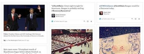 Les innovations éditoriales pendant le débat Obama/Romney | DocPresseESJ | Scoop.it