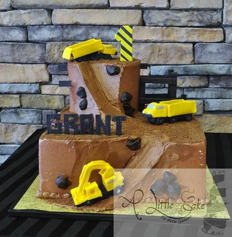 Construction Theme Birthday Cake | Custom Cakes for You | Scoop.it