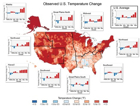 Nine maps that show how climate change is already affecting the US | green infographics | Scoop.it