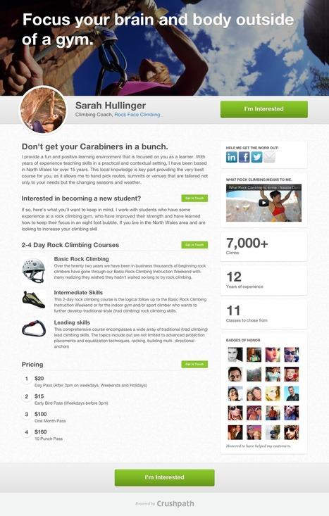 Crushpath is a promising take on socialselling   Social Media   Scoop.it
