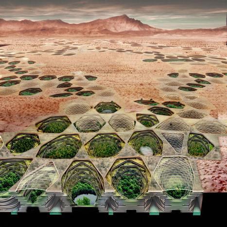 Sietch Nevada, le projet d'un urbanisme souterrain | Ville et Société | Scoop.it