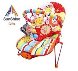 Buy Sunshine - Reclining, Vibrating & Musical Bouncer, Cradle, Chair for Babies - Very Solid and Study With Metal Rods | Discounts India | Scoop.it