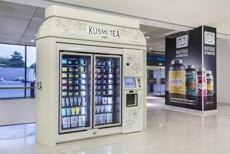 Kusmi Tea inaugure son Kusmikiosk à Paris, une boutique 100% automatisée   Thé, plantes à infusion, tisanes   Scoop.it