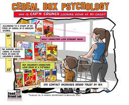 Eyes in the cereal aisle: How Cap'n Crunch's gaze is influencing your purchasing | Psychology of Consumer Behaviour | Scoop.it