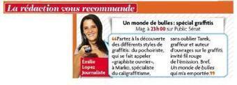 Article dans Télé Star | The art of Tarek | Scoop.it