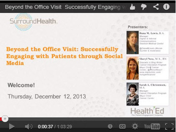 5 Tips for Successfully Engaging with Patients through Social Media | Online Marketing | Scoop.it