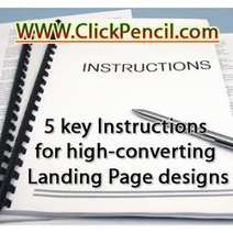 5 key Instructions for high-converting Landing Page designs | Landing page design | Scoop.it