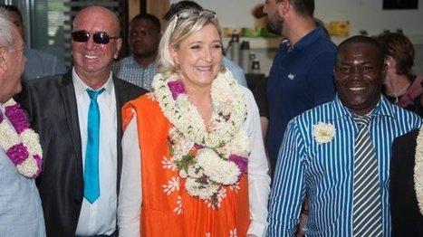 Marine Le Pen et l'Outre-mer : une stratégie payante ? | Veille des élections en Outre-mer | Scoop.it