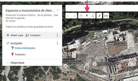 EURICLEA: GRIEGO II: GOOGLE MAPS Y LA ATENAS DE PERICLES... | EURICLEA | Scoop.it
