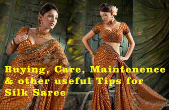 Fashionzine: Silk Sarees Tips for Buying, Care & Maintenance | Fashion & Lifestyle | Scoop.it