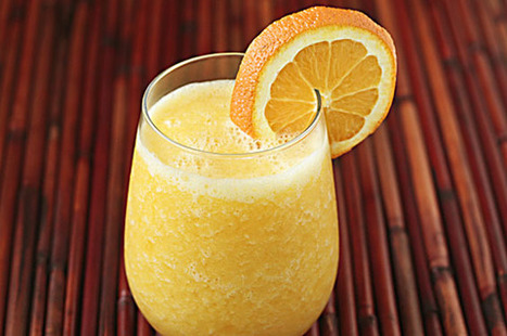 "#HealthyRecipe - Fresh Orange Smoothie (""Orange Julius"") 
