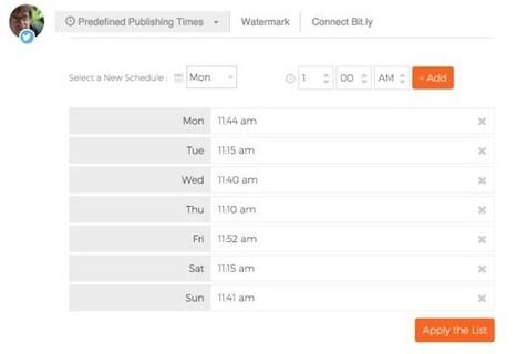 Postcron. Programmer ses publications sur les réseaux sociaux | Les outils de la veille | Réseaux sociaux & eTwinning | Scoop.it