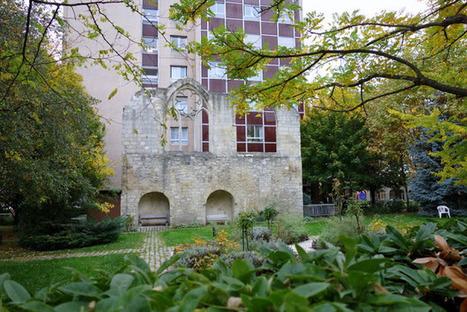 Paris : Vestiges du couvent des Cordelières dans les jardins de l'hôpital Broca | The Blog's Revue by OlivierSC | Scoop.it