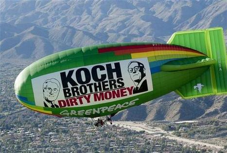 Koch Industries: Secretly Funding the Climate Denial Machine - Greenpeace USA | Backstabber Watch | Scoop.it